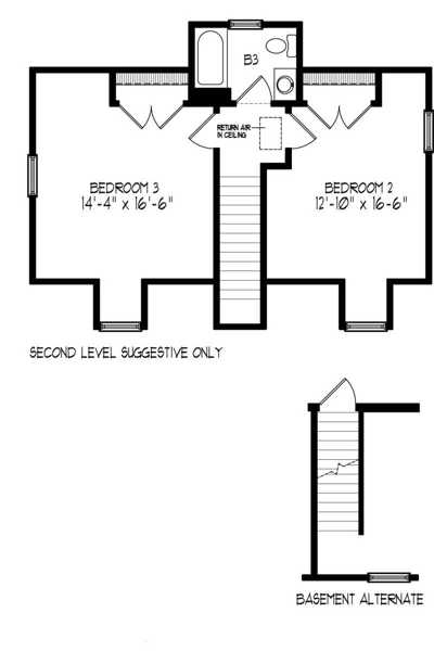Level 2 & Basement